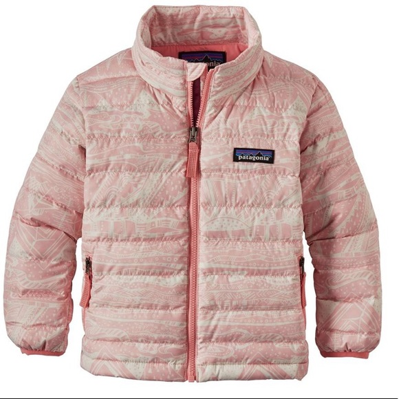 21eb2d6b3 Patagonia Jackets & Coats | Baby Down Sweater Pink Opal 1218 Month ...